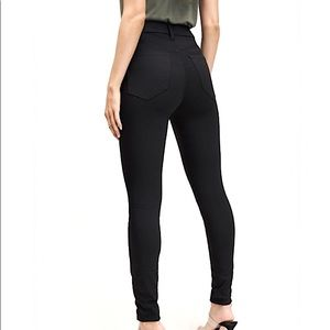 New Dynamite Black High-Waisted Jeans